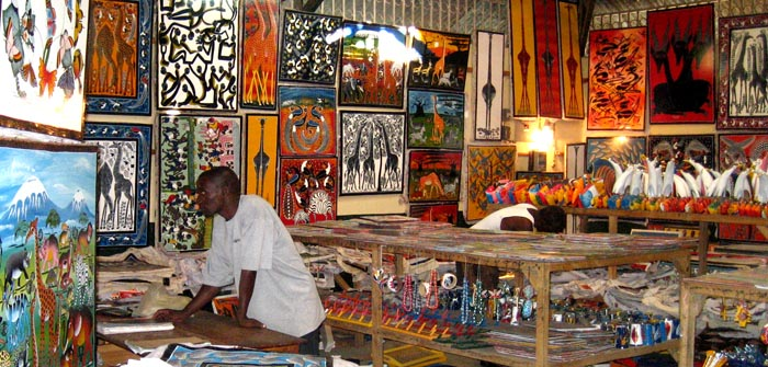interior of tinga tinga cooperative